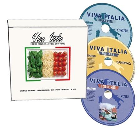 Viva Italia. Szlagiery włoskiej piosenki na 3 CD