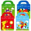 Koloruje i naklejam – 4 książeczki. Komplet Przyjaciele... : Dla dzieci
