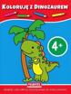 Koloruję 4+ z małpką : Dla dzieci