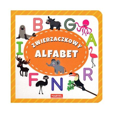Zwierzaczkowy alfabet - Joanna Garncarek : Dla dzieci