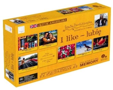 I like - lubię. Gra edukacyjna memory. Autorska kolekcja gier słynnej podróżniczki Beaty Pawlikowskiej : Dla dzieci