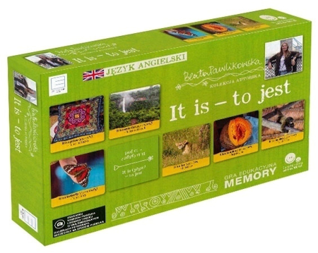 It is - to jest. Gra edukacyjna memory. Autorska kolekcja gier słynnej podróżniczki Beaty Pawlikowskiej : Dla dzieci