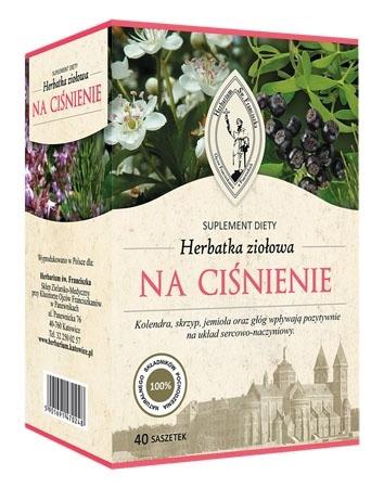 Herbatka ziołowa na ciśnienie, 120 g (fix)