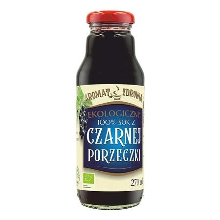 Ekologiczny sok z czarnej porzeczki, 270 ml