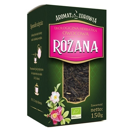Ekologiczna herbatka różana, 150 g