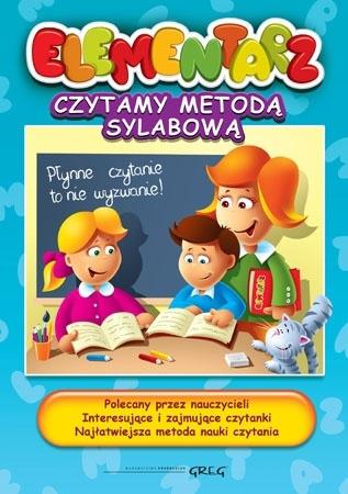 Elementarz. Czytamy metodą sylabową - Alicja Karczmarska-Strzebońska : Podręczniki szkolne