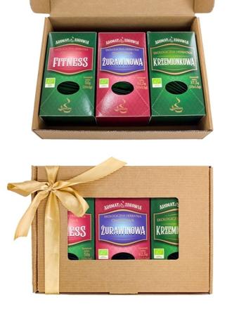 Herbatki ekologiczne (fix). Zestaw
