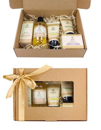 Zestaw kosmetyków na bazie wosku pszczelego