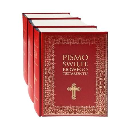 Pismo Święte Starego i Nowego Testamentu, t. 1-3. Duże litery - Wydanie ilustrowane