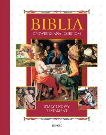 Biblia opowiedziana dzieciom. Stary i Nowy Testament (mały format)