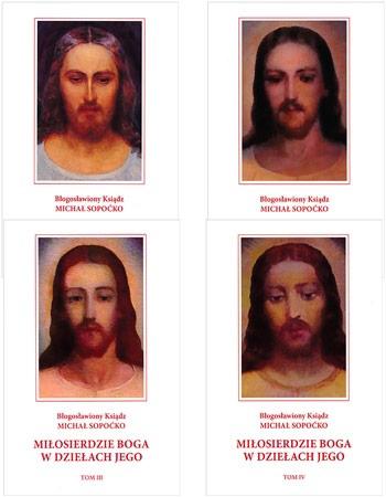 Miłosierdzie Boga w dziełach Jego. Tom I-IV - Ks. Michał Sopoćko - komplet