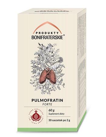 Pulmofratin Forte. Suplement diety, 60 g (30 saszetek po 2 g) : Preparaty ziołowe