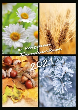 2021 z ks. Twardowskim. 4 pory roku : Kalendarz