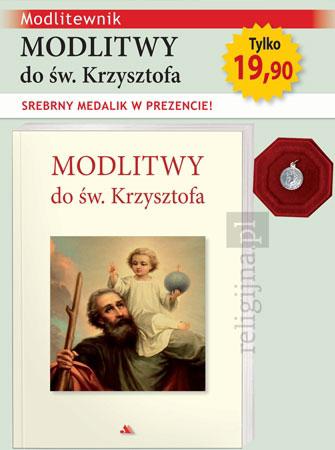 Picture of Modlitwy do św. Krzysztofa. Modlitewnik ze srebrnym medalikiem w prezencie