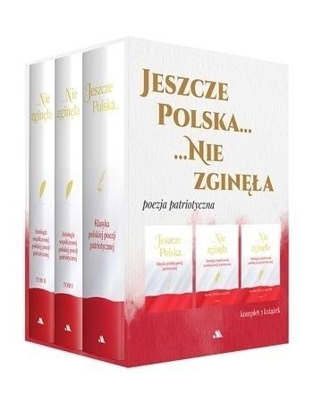 Jeszcze Polska nie zginęła. Komplet antologii polskiej poezji patriotycznej w etui : Justyna Chłap-Nowak