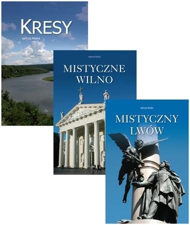 Trzy albumy o Kresach. Komplet 3 książek - Jędrzej Majka