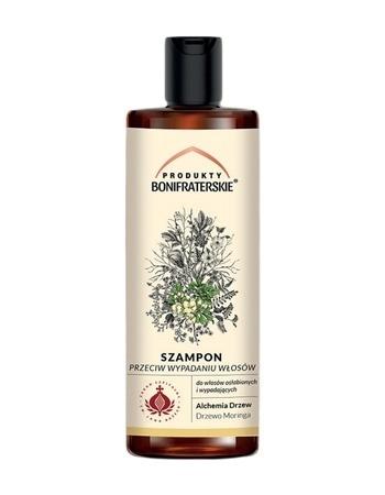 Szampon przeciw wypadaniu włosów. Kosmetyk, 200 ml : Preparaty ziołowe