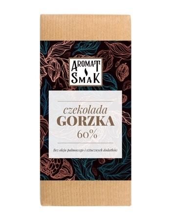 Czekolada gorzka 60%, 80 g : Aromat i Smak