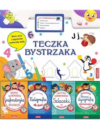 """Teczka bystrzaka """"Zestaw grafomotoryczny"""" : Dla dzieci"""