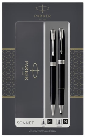 Komplet Parker Sonnet pióro kulkowe + długopis