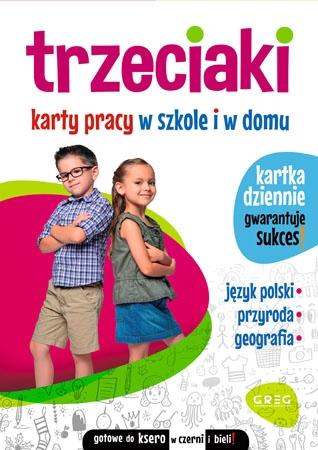Trzeciaki. Karty pracy w szkole i w domu - Marta Kurdziel