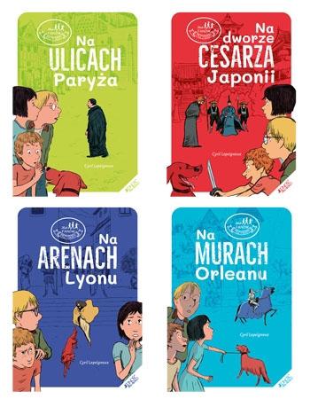 Klub fanów przygód. Komplet 4 książek - Cyril Lepeigneux