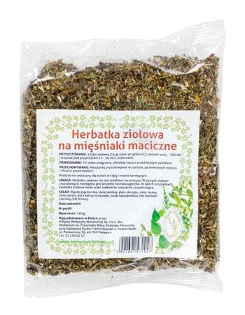 Herbatka ziołowa na mięśniaki maciczne, 150 g